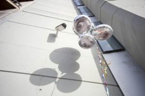 Globos Reflectantes-Camara