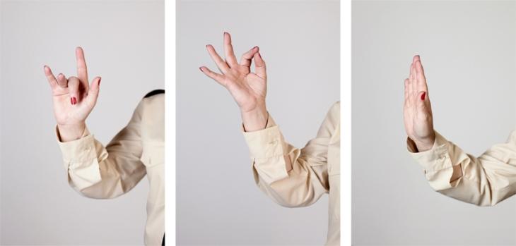 Mind Your Manners! #1, 2011. Mireia c. Saladrigues //  Fotografies d'Elisenda Fontarnau