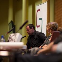 Israel Ariño d' Ediciones Anómalas. Foto: Javier Chicharro
