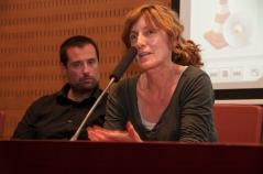 Montse Puig d' Ediciones Anómalas. Foto: Eric Mañas Lo Conte