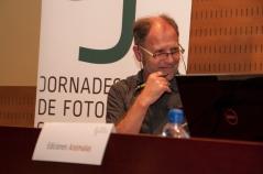 Carles Costa, d'Activitats Culturals de l'IEFC. Foto: Eric Mañas Lo Conte