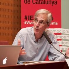 Llorenç Raich, d'Activitats Culturals de l'IEFC. Foto: Eric Mañas Lo Conte