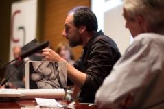Roger Guaus de Ca l'Isidret Edicions. Foto: Javier Chicharro