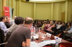 Pregunta del públic. Foto: Javier Chicharro